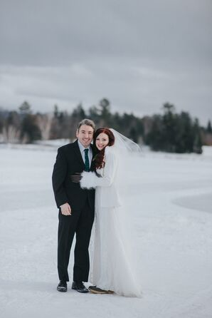 Winter Destination Wedding in Lake Placid, New York