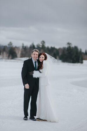 Winter Destination Wedding in Lake Placid, New York