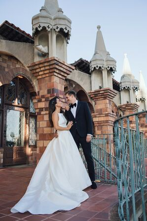 Glamorous Couple at The Mission Inn Hotel & Spa in Riverside, California