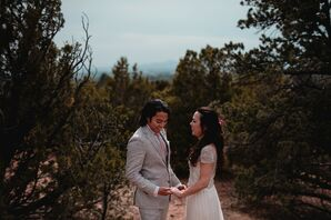 Bohemian Couple at La Posada De Santa Fe Resort & Spa in New Mexico