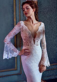 Calla Blanche LA8110 Amber Sheath Wedding Dress