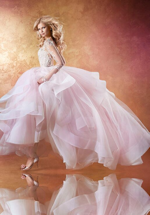 fb5c99e4391 Hayley Paige Lorelei 6654 Wedding Dress - The Knot