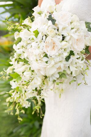 Large White Bridal Bouquet
