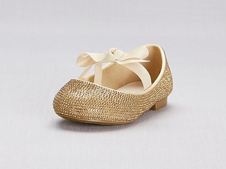 3f35b43e22bda 30 Flower Girls Shoes That'll Put Extra Pep in Her Step