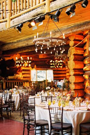 Rustic Lodge Reception