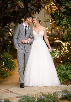Essense of Australia D3004 A-Line Wedding Dress