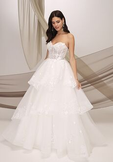 Justin Alexander Signature Thira Ball Gown Wedding Dress