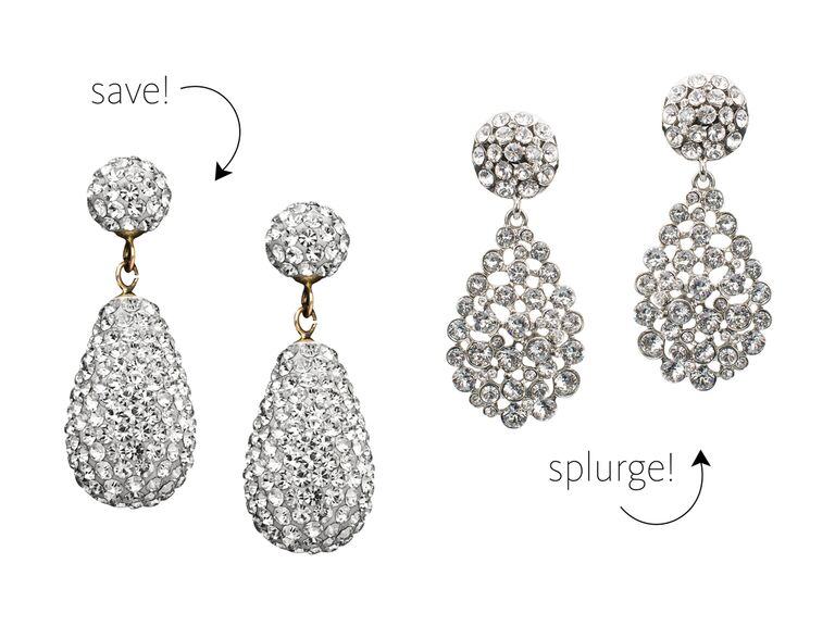 d54907c65 Nothing says serious glamour quite like oversize crystal pave drops.  Splurge: Teardrop Earrings ...