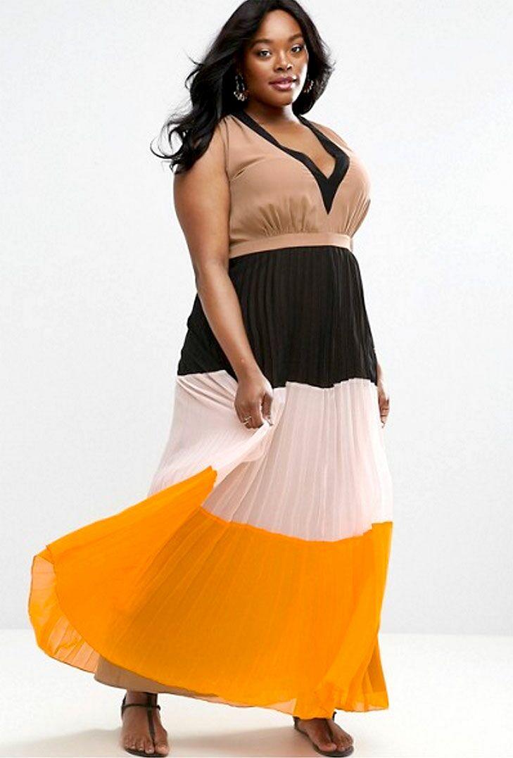 Bright Maxi Dresses for Beach Wedding Color