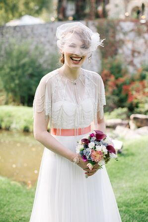 BHLDN Vintage-Inspired Wedding Dress