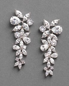 Dareth Colburn Delilah CZ Drop Earrings (JE-1128) Wedding Earring photo