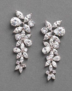 Dareth Colburn Delilah CZ Drop Earrings (JE-1128) Wedding Earring photo