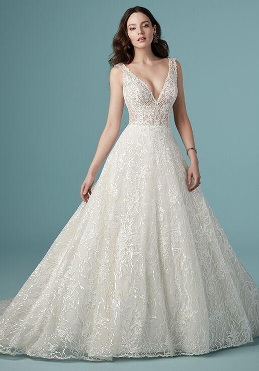 Maggie Sottero Ricarda Rose Wedding Dress The Knot,Vera Wang Wedding Dresses 2019