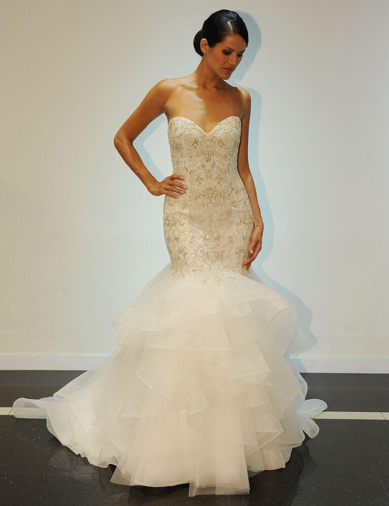 Simone Carvalli Fall 2016 Collection: Wedding Dress Photos