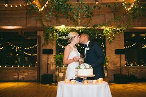 Cake Cutting at the Loft in the the Bridgeport Art Center in Chicago