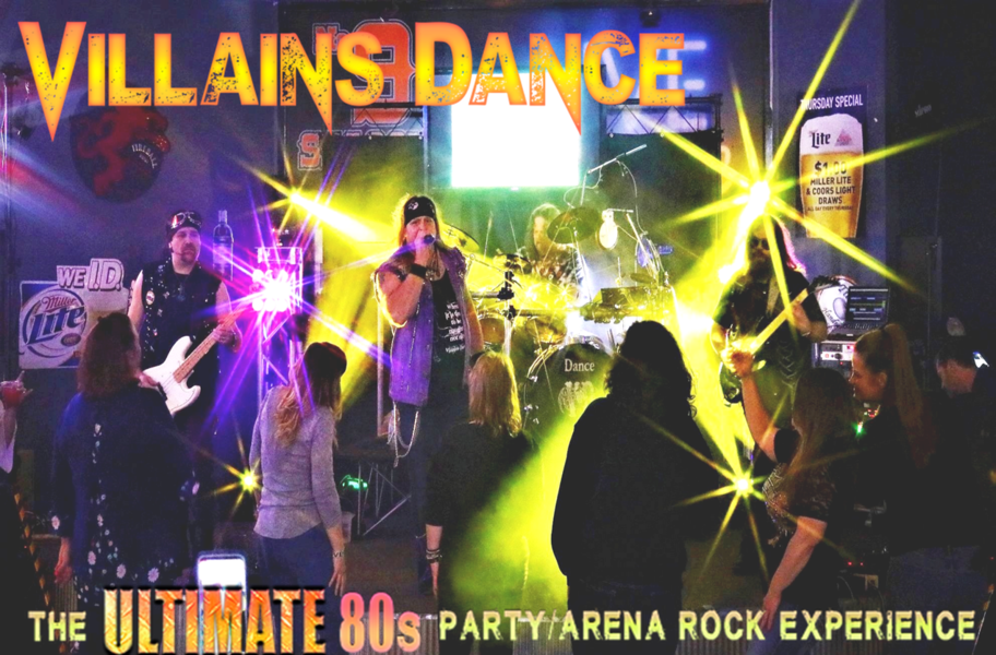 Villains Dance - A Tribute to 80s Arena Rock - 80s Band - Overland Park, KS