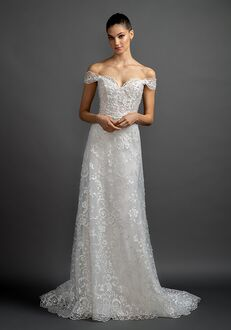 Lazaro Bea/3906 A-Line Wedding Dress