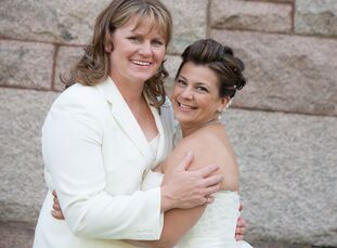 Melanie Santos (42 and a massage therapist) and Jennifer Mead (42 and a college professor) met around 1980 and grew up in the same small town. They kn