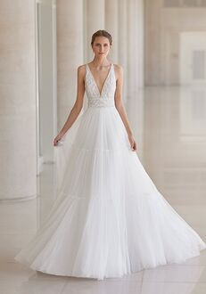 Aire Barcelona UNAY A-Line Wedding Dress