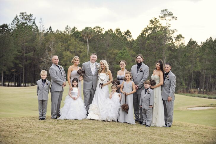 Wedding Party Looks