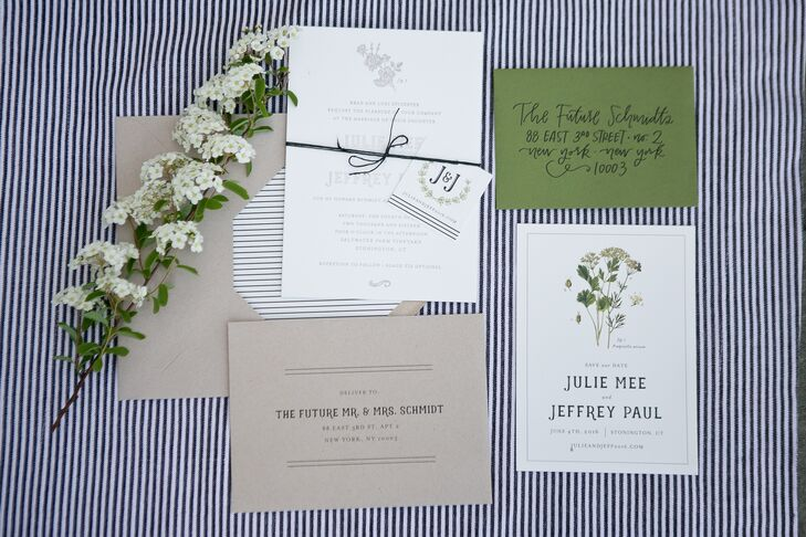 Rustic Suite with Botanical Illustrations