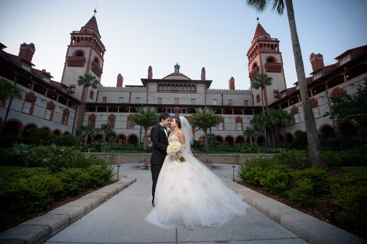 Sweetheart Ball Gown with Ivory Embellishments