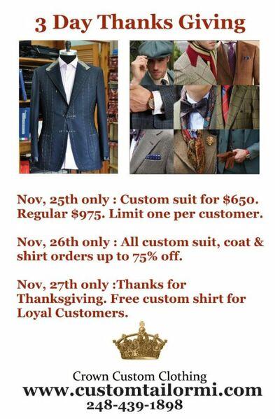 Crown Custom Clothing