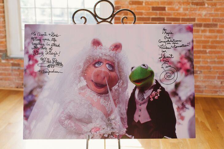 Kermit and Miss Piggy Photo