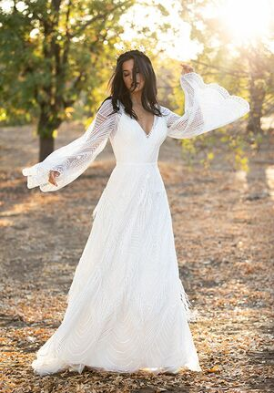 All Who Wander Jett A-Line Wedding Dress