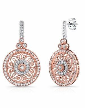 Uneek by Benjamin Javaheri LVE686RW Wedding Earring photo