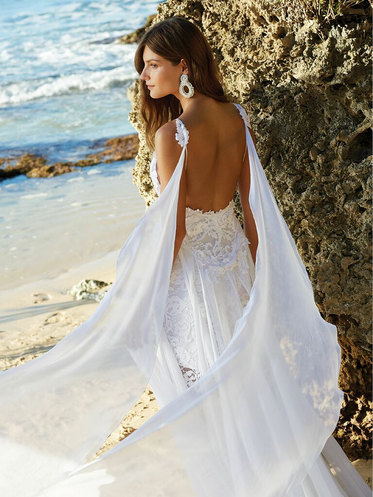 Grace Loves Lace wedding dress and Bibi Marini earrings