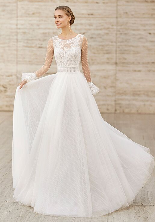 Rosa Clará Couture ELBA A-Line Wedding Dress