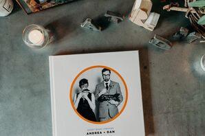 Whimsical and Modern Guest Book