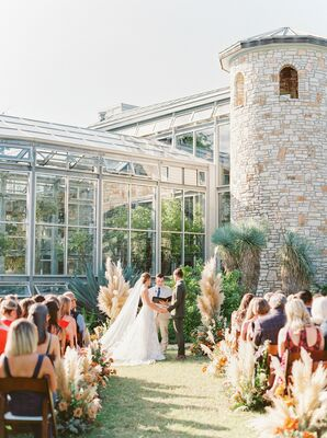 Wedding Ceremony at The Greenhouse at Driftwood