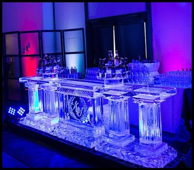 (Ice carving)- Elegant Ice Creations