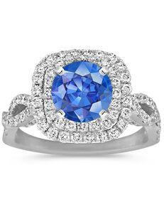 Shane Co. Glamorous Cushion Cut Engagement Ring