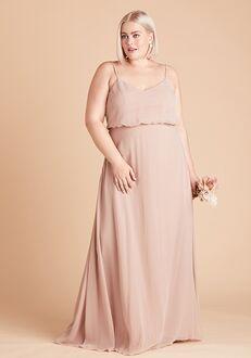 Birdy Grey Gwennie Dress Curve in Taupe Bridesmaid Dress