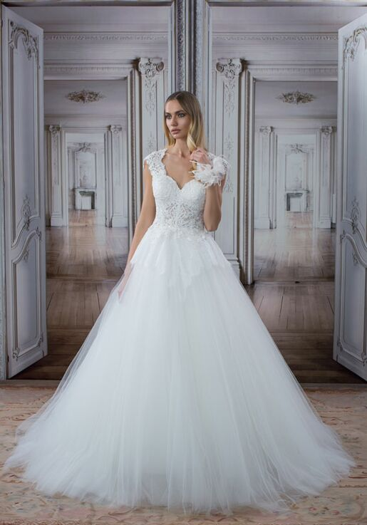 Love By Pnina Tornai For Kleinfeld 14500 Ball Gown Wedding Dress