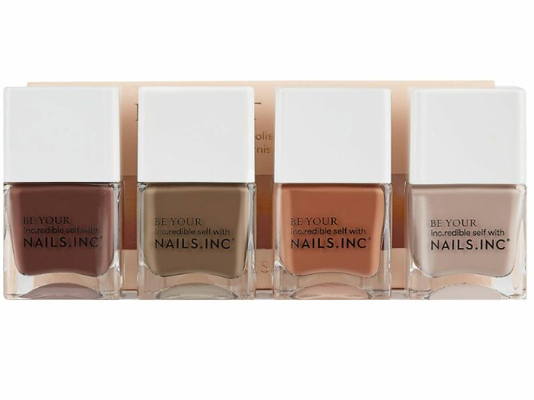 neutral nail polish set