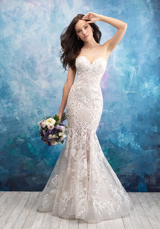 Allure Bridals 9560 Mermaid Wedding Dress