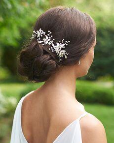 Dareth Colburn Lila Wedding Comb (TC-7016) Gold Pins, Combs + Clip