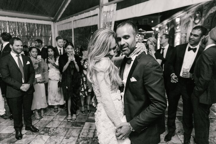 Classic First Dance at Palácio dos Marqueses da Fronteira in Lisbon, Portugal