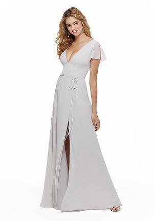 Morilee by Madeline Gardner Bridesmaids 21640 V-Neck Bridesmaid Dress