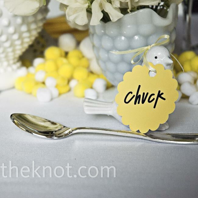 Bird-Themed Place Settings
