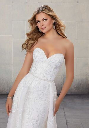 Madeline Gardner Signature Simone 1018 Sheath Wedding Dress