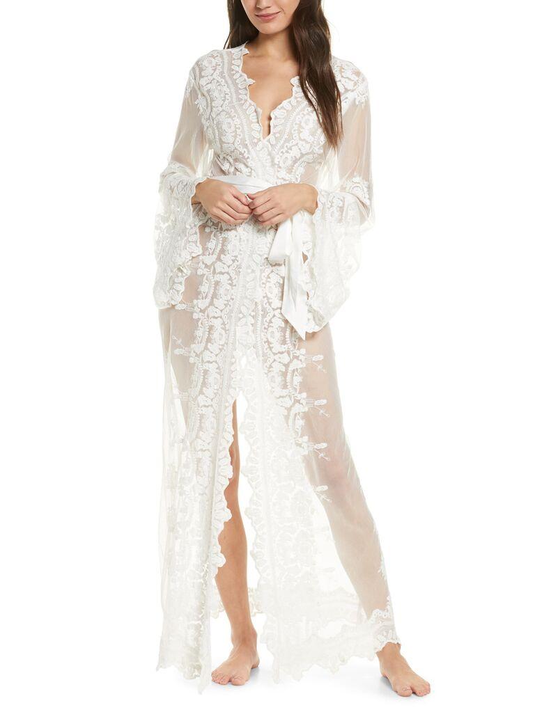 Lace Bridal Set  Lace Bridal Robe  Bridesmaid Robes  Robe  Bridal Robe  Bride Robe  Bridal Party Robes