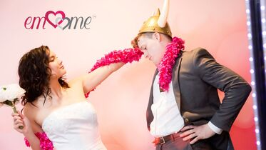 Emme photo booth - the magic is in the mirror!