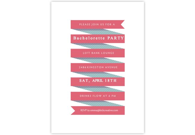 get the bachelorette party started with these 6 fun email invites