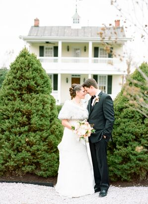 Wedding Portrait at Antrim 1844 in Taneytown, Maryland
