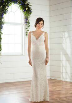Essense of Australia D2474 Sheath Wedding Dress
